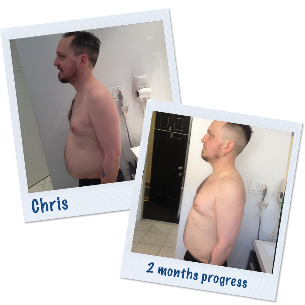 Chris Fitness Transformation